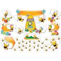 Buzz–Worthy Bees Bulletin Board Set, Grades PK-5