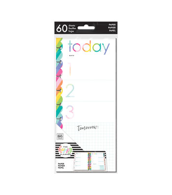 The Happy Planner 60 pk Priority Half Sheets