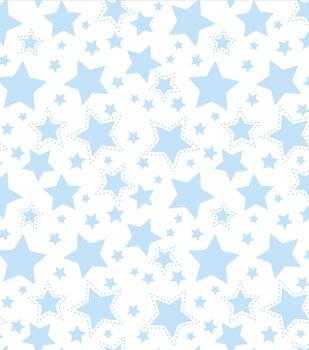 Nursery Flannel Fabric -Starry Night