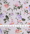 Check It Jacquard Fabric 57\u0022-Ivory Floral