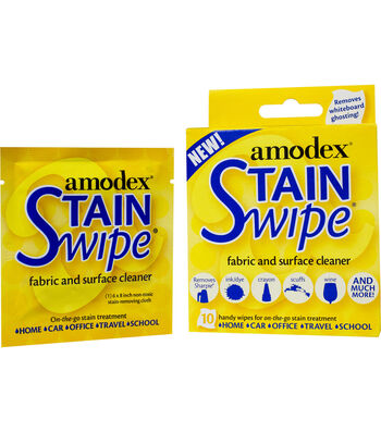 Amodex Stain Swipe Surface Cleaner Towelettes 10/Pkg