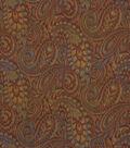 Robert Allen @ Home Upholstery Fabric 54\u0022-Tamil Paisley Henna