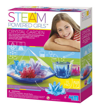 4M STEAM Powered Girls Crystal Garden Kit