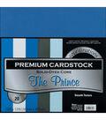 Core\u0027dinations Value Pack Cardstock 12\u0022X12\u0022 20/Pkg-The Prince-Smooth