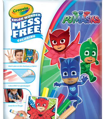 Crayola Color Wonder-PJ Masks