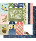 One Canoe Two Creekside Double-Sided Cardstock 12\u0022X12\u0022-Take Note