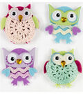 Jolee\u0027s Boutique 4 Pack Stickers-Cutesy Owls