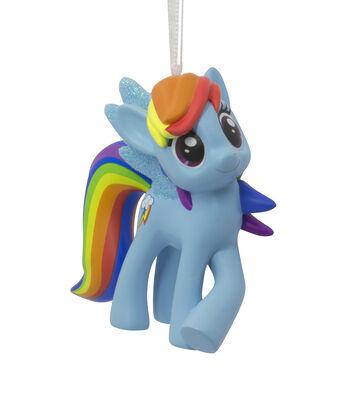 Hallmark Christmas Resin Figural My Little Pony Rainbow Dash Ornament