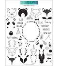 Concord & 9th Clear Stamps 6\u0022X8\u0022-Furry Friends