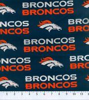 Denver Broncos Cotton Fabric -Mascot Logo, , hi-res