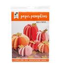 DCWV Halloween Paper Projects- Paper Pumpkins