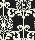Waverly Lightweight Decor Fabric 54\u0022-Fun Floret/Licorice