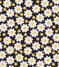 Snuggle Flannel Fabric -Daisies