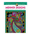 Dover Creative Haven Mehndi Designs Coloring Book