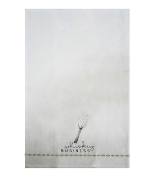 Simply Autumn Tip Towel-Whiskey Business