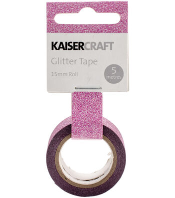 Hot Pink -glitter Tape 5 Meter