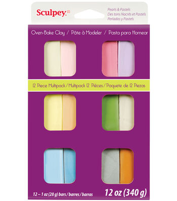 Sculpey III Multi Packs-Pastels