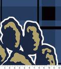 Pittsburgh Panthers Fleece Fabric 58\u0022-Navy Plaid