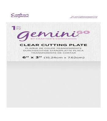 Crafter's Companion Gemini GO Clear Cutting Plate