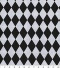 Keepsake Calico Cotton Fabric 43\u0027\u0027-Black & White Diamond