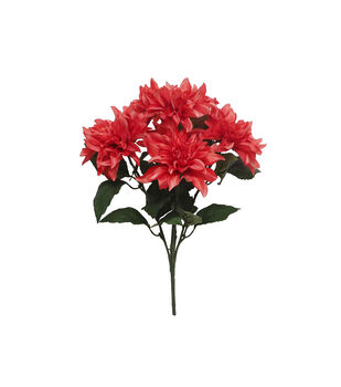Fresh Picked Spring 20.75'' Dahlia Bush-Coral