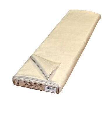 Roc-lon® Mardi Gras Plus Suede Finish Fabric-Cream