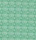 Keepsake Calico Cotton Fabric-Green Damasks
