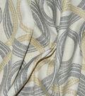 Waverly Outdoor Print Fabric 54\u0027\u0027-Onyx Radiant Rings