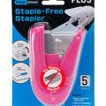 Plus Corporation Paper Clinch Staple-Free Stapler