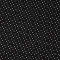 Keepsake Calico Cotton Fabric-Black Small X Geo