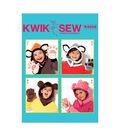 Kwik Sew Pattern K4202 Kids\u0027 Animal-Themed Hoods & Mittens