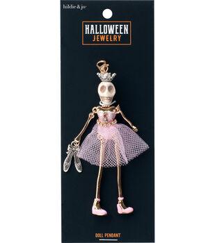 hildie & jo Halloween Doll Pendant-Day of the Dead Ballerina Natalia