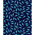 Nursery Flannel Fabric -Gordan Fishes