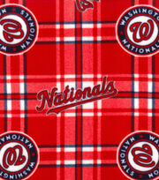 Washington Nationals Fleece Fabric-Plaid, , hi-res