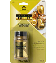 Folkart Treasure Gold Paint-Gold, , hi-res