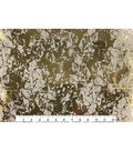 Keepsake Calico Cotton Fabric 43\u0027\u0027-Metallic & Tan Crackle