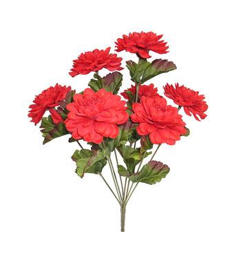 Blooming Autumn 15'' Marigold Bush-Red