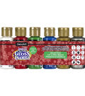 Americana Gloss Enamels Value Pack 6/Pkg-Christmas