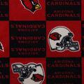 Arizona Cardinals Fleece Fabric -Block