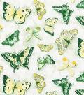 Keepsake Calico Cotton Fabric -Yellow Butterfly