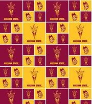 "Arizona State University Sun Devils Cotton Fabric 43""-Block, , hi-res"