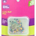 Dritz 1.25\u0022 Sewing 101 Color Ball Pins 80pcs Size20