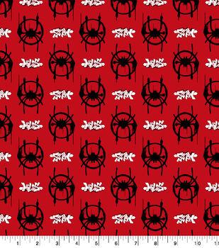 Marvel Spider-Man Cotton Fabric-Spider-Verse Logos