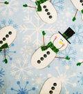 Keepsake Calico Holiday Cotton Fabric 43\u0022-Let it Snow
