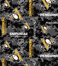 Pittsburgh Penguins Fleece Fabric -Digital Camo