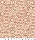 Home Decor 8\u0022x8\u0022 Fabric Swatch-Waverly Ulla Coral