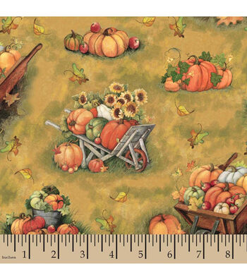 Harvest Cotton Fabric-Susan Winget Down On The Farm