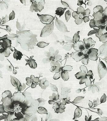 Kelly Ripa Upholstery Fabric-Ethereal Dance Ebony