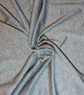 Jersey Knit Apparel Fabric-Heather Charcoal