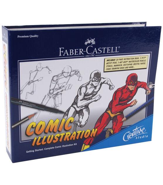 fabercastell pitt complete comic illustration kit